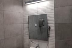 Lustro łazienkowe z przeznaczeniem dla osób niepełnosprawnych